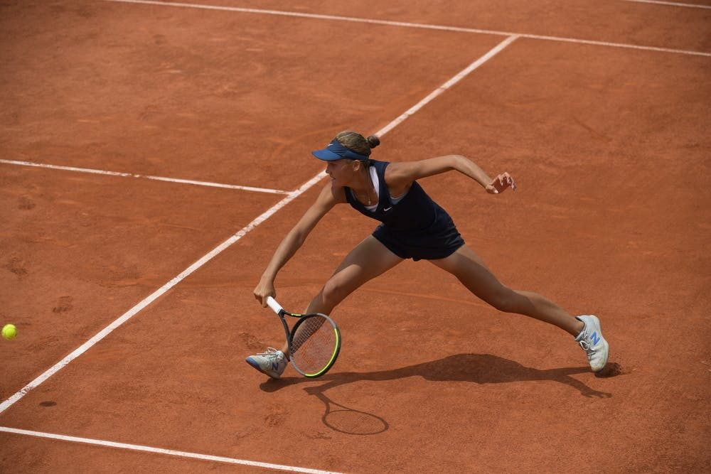 Erika Andreeva, Roland-Garros 2021, girls' singles final
