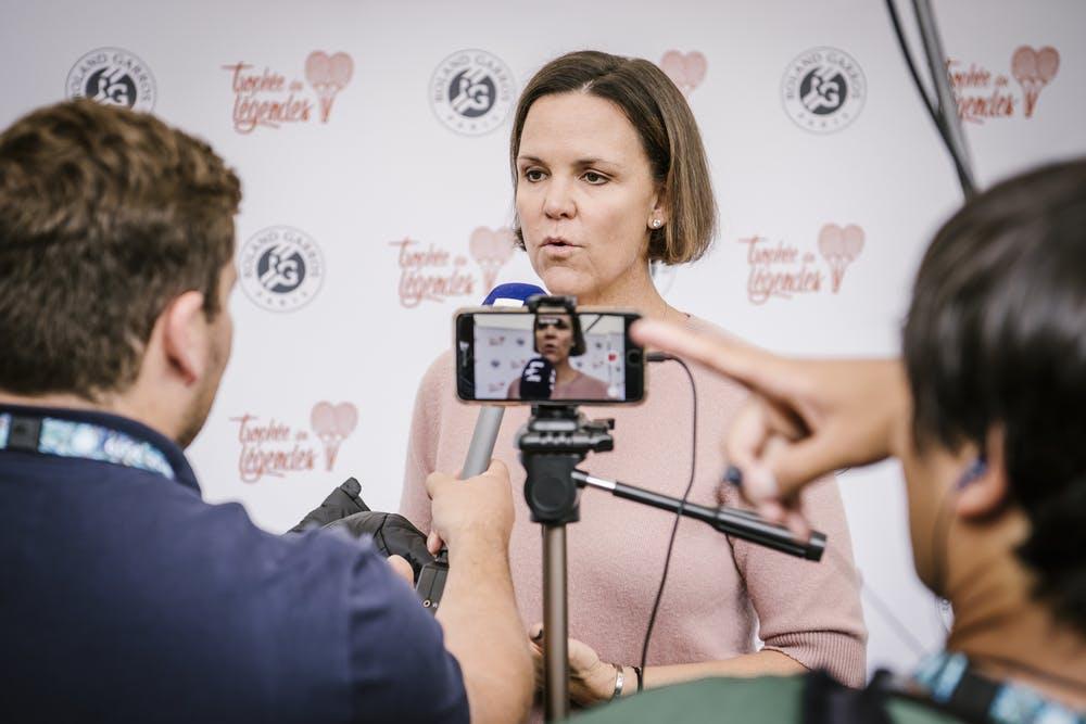 Lindsay Davenport legends 2019 roland garros
