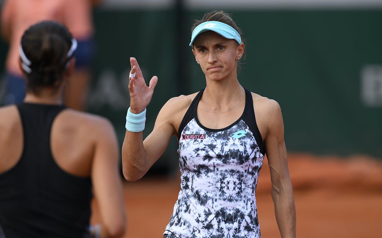 Roland-Garros 2018, 8e de finale, Lesia Tsurenko