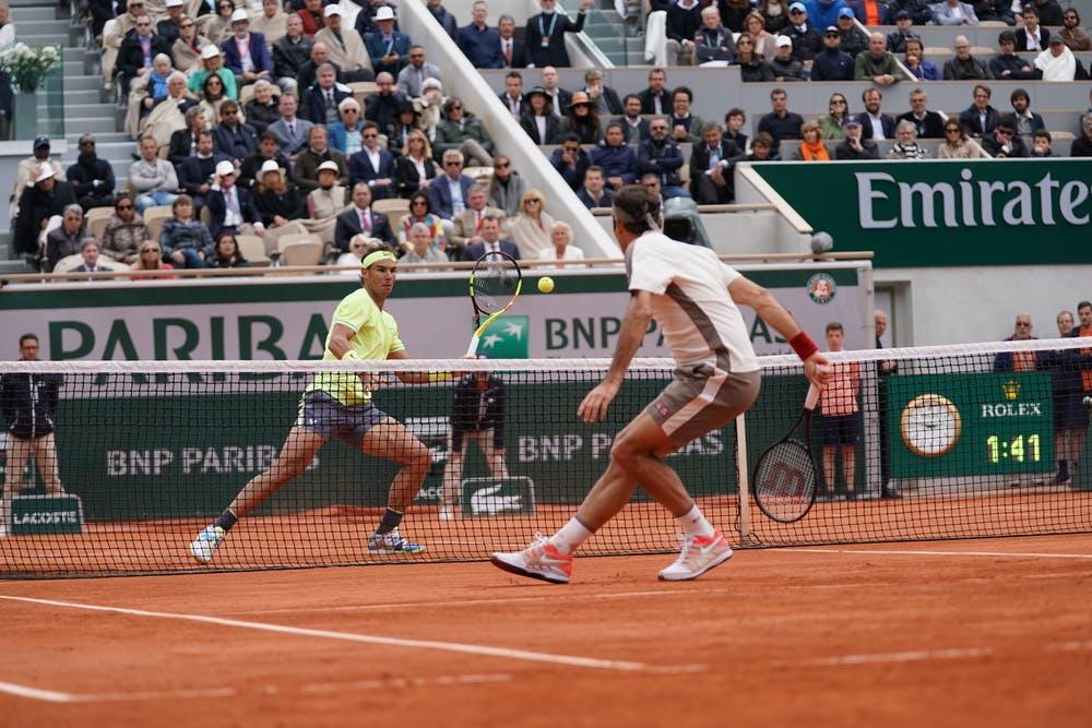 Rafael Nadal - Roger Federer - Roland-Garros 2019