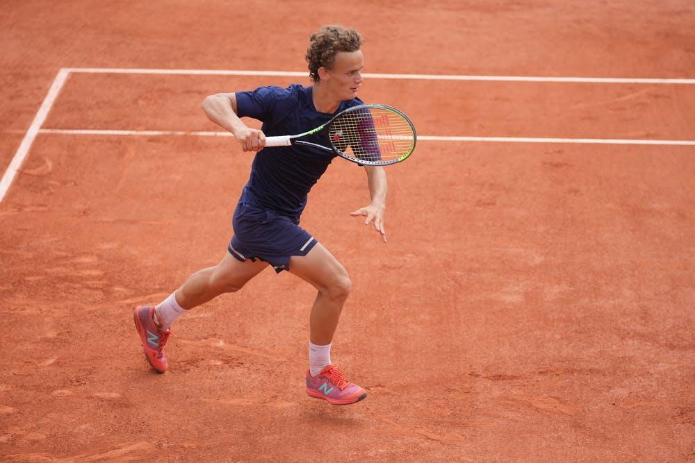 Luca Van Assche, Roland-Garros 2021, boys' singles final