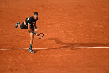 Roland-Garros 2018, 8e de finale, Juan Martin del Potro
