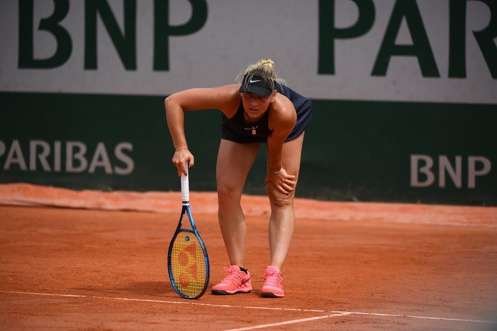 Marta Kostyuk, Roland-Garros 2021, second round