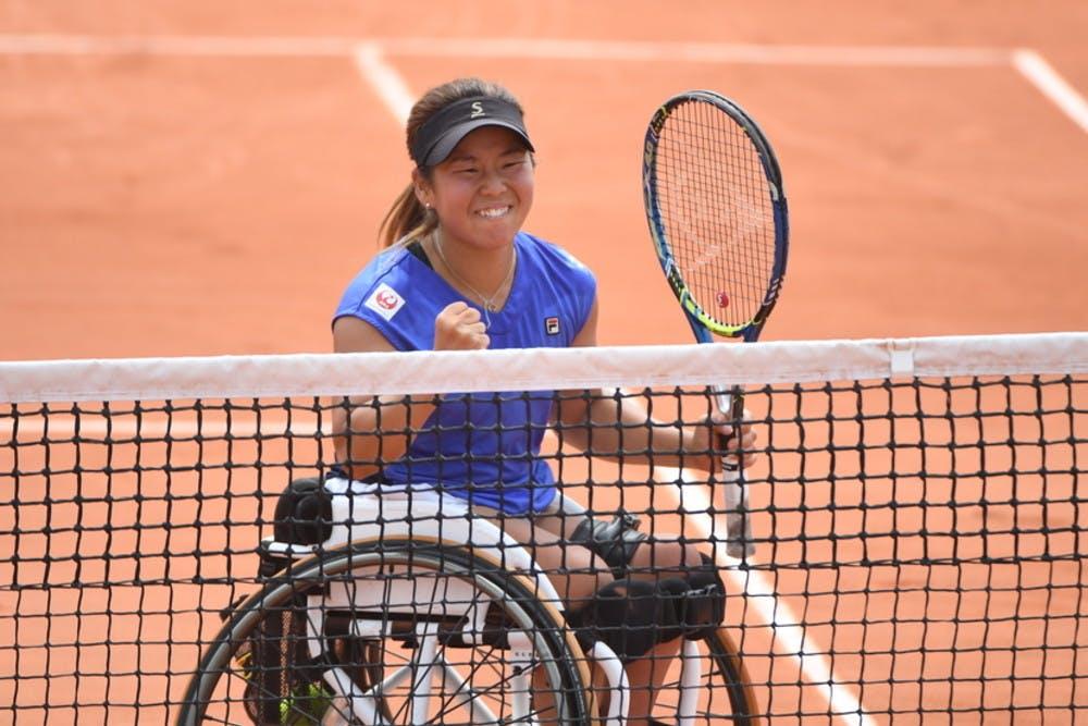 Roland-Garros 2018, Yui Kamiji, tennis fauteuil