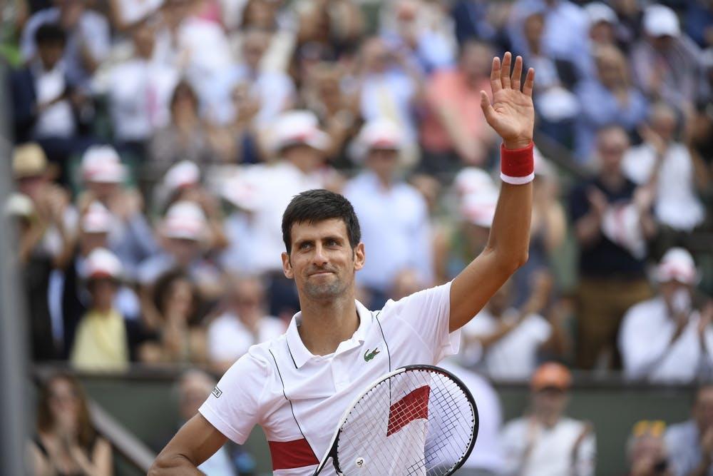 Novak Djokovic premier tour Roland-Garros 2018