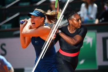 Serena Williams Maria Sharapova 3e tour Roland-Garros 3rd round.