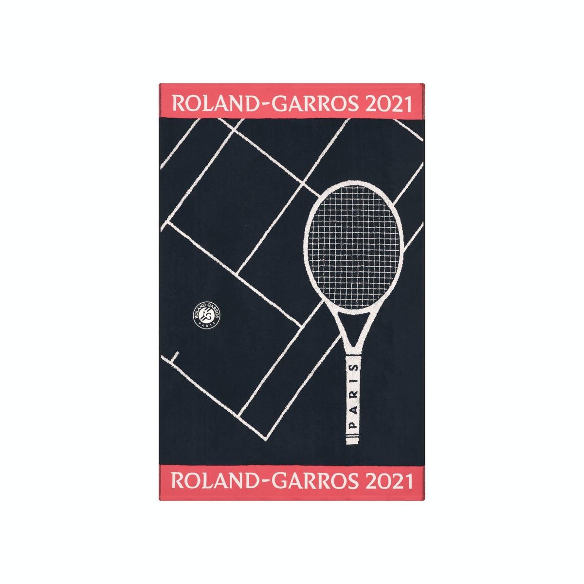 Serviette joueur officielle Roland-Garros 2021