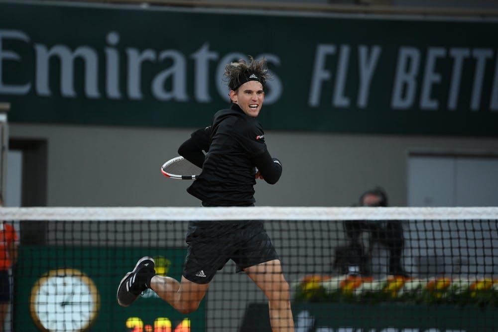 Dominic Thiem, Roland Garros 2020, third round