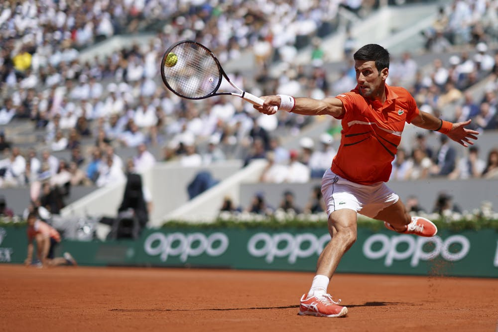 Novak Djokovic Roland Garros 2019 quarter-final