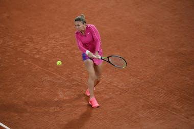 Simona Halep, Roland-Garros 2020, 3e tour