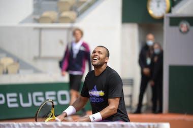 Jo-Wilfried Tsonga, Roland Garros 2021, practice