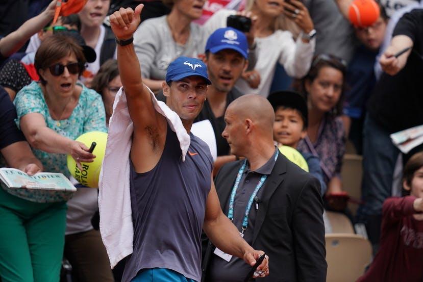 Roland-Garros 2019 - Rafael Nadal - Les Enfants de Roland-Garros