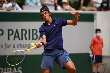 Lorenzo Musetti, Roland-Garros, 2nd round