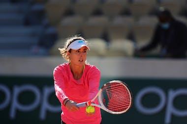 Alize Cornet, Roland Garros 2020, first round