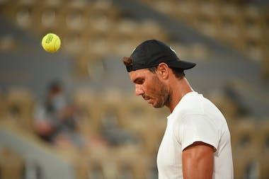 Rafael Nadal, Roland Garros 2020, practice
