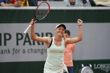 Fiona Ferro, Roland-Garros 2018