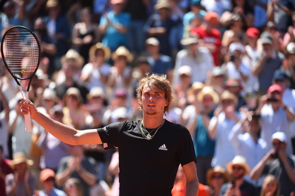 Alexander Zverev - Roland-Garros 2019 - 3e tour