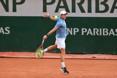 Evan Furness Roland-Garros 2021