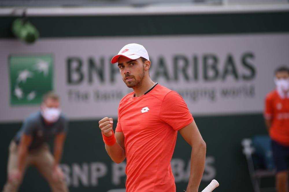 Benjamin Bonzi, Roland Garros 2020, qualifying second round