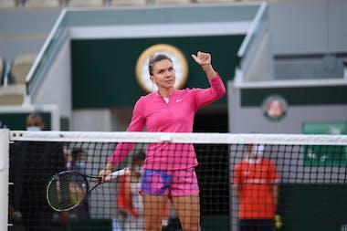Simona Halep, Roland Garros 2020, second round