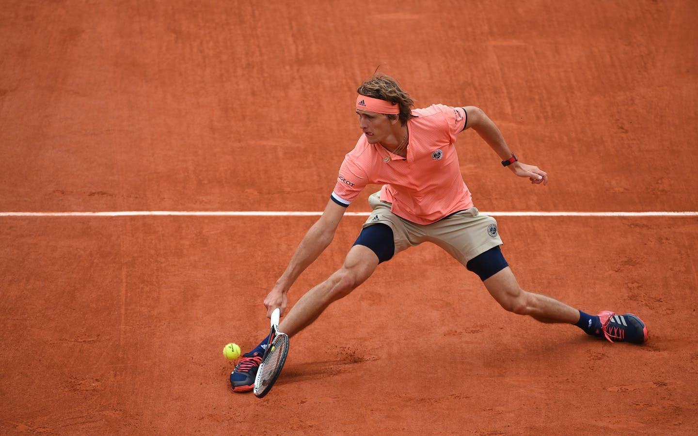 Alexander Zverev, Roland Garros 2018, Simple Messieurs, 3eme Tour