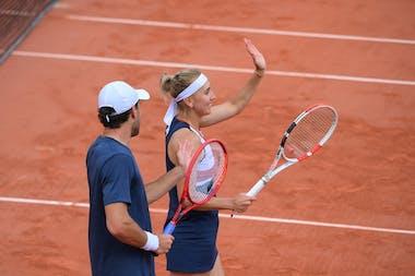 Aslan Karatsev, Elena Vesnina, Roland-Garros 2021, mixed doubles semi-finals