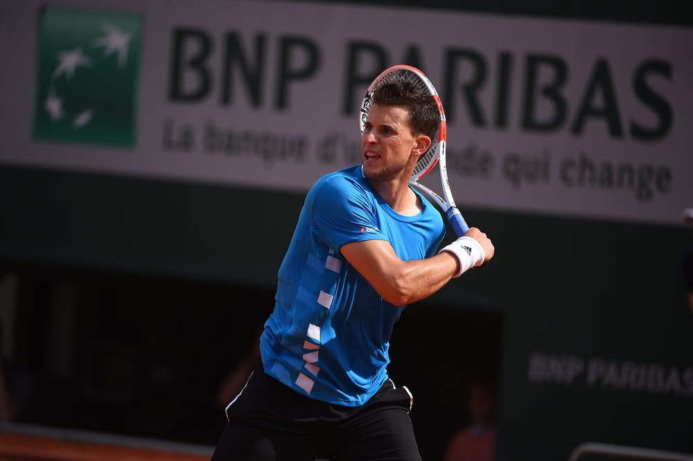 Dominic Thiem fourth round roland garros 2019