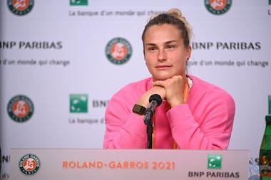Aryna Sabalenka Roland-Garros 2021