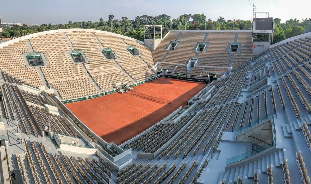 Court Suzanne-Lenglen, Roland-Garros