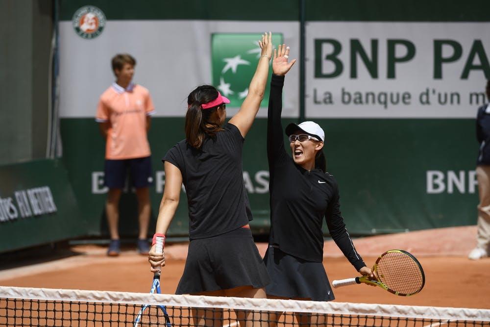 Duan Yingying and Zheng Saisai.