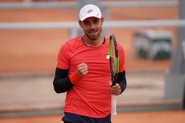 Benjamin Bonzi, Roland-Garros 2020, 1er tour