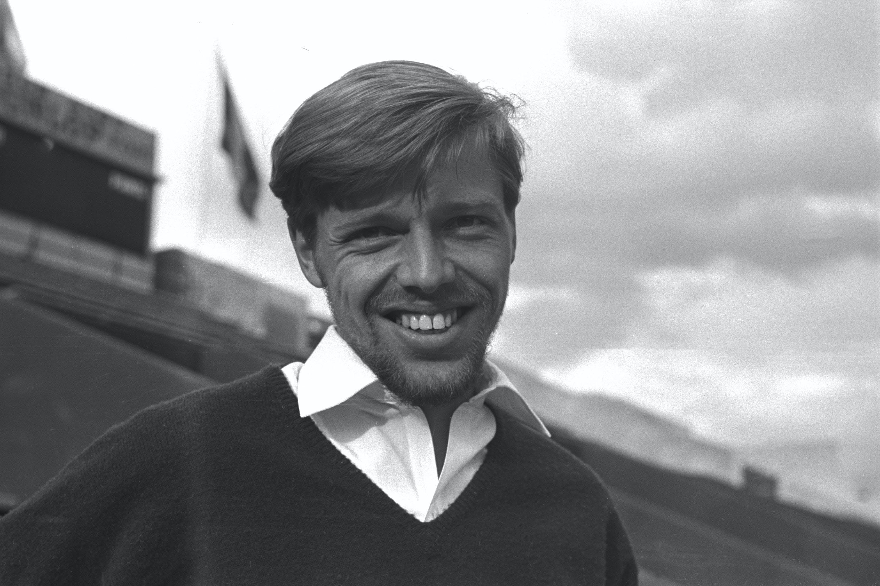 Torben Ulrich smiling at Roland-Garros