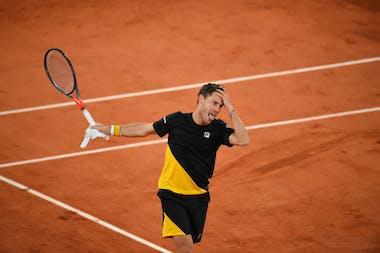 Diego Schwartzman, Roland Garros 2020, quarter-final