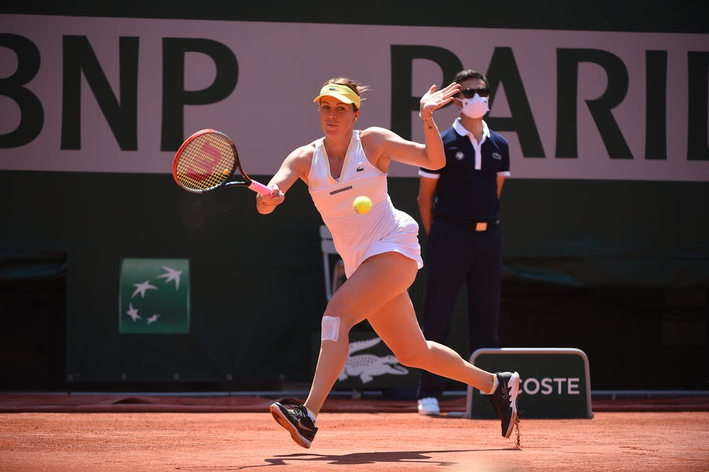 Anastasia Pavlyuchenkova, Roland-Garros 2021 semi-final
