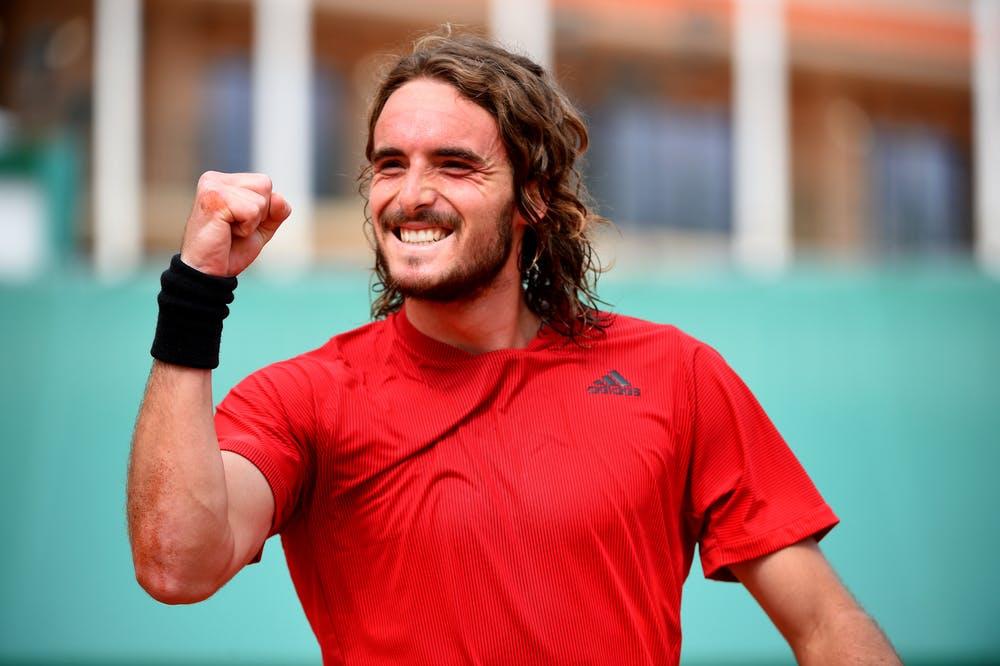 Stefanos Tsitsipas, final, Monte-Carlo, 2021