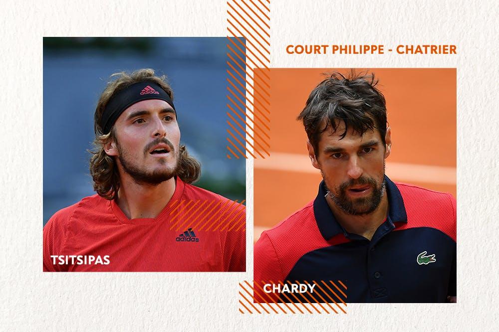 Tsitsipas Chardy Roland-Garros 2021