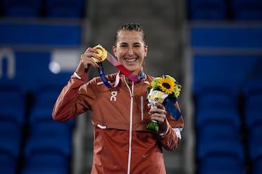 Belinda Bencic / Gold Medal at Tokyo 2020