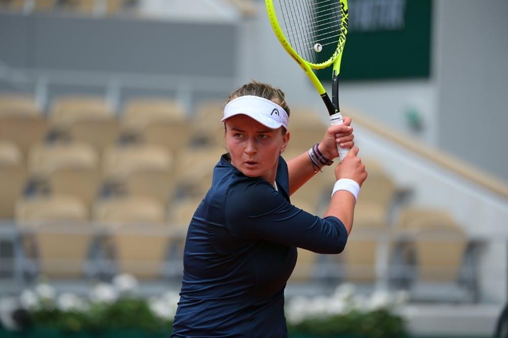Barbora Krejcikova, Roland Garros 2021, third round