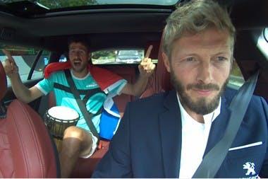 En route vers Roland-Garros avec Peugeot - Robin Haase