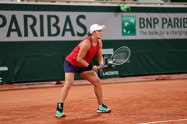 Ashleigh Barty, Roland Garros 2021, practice