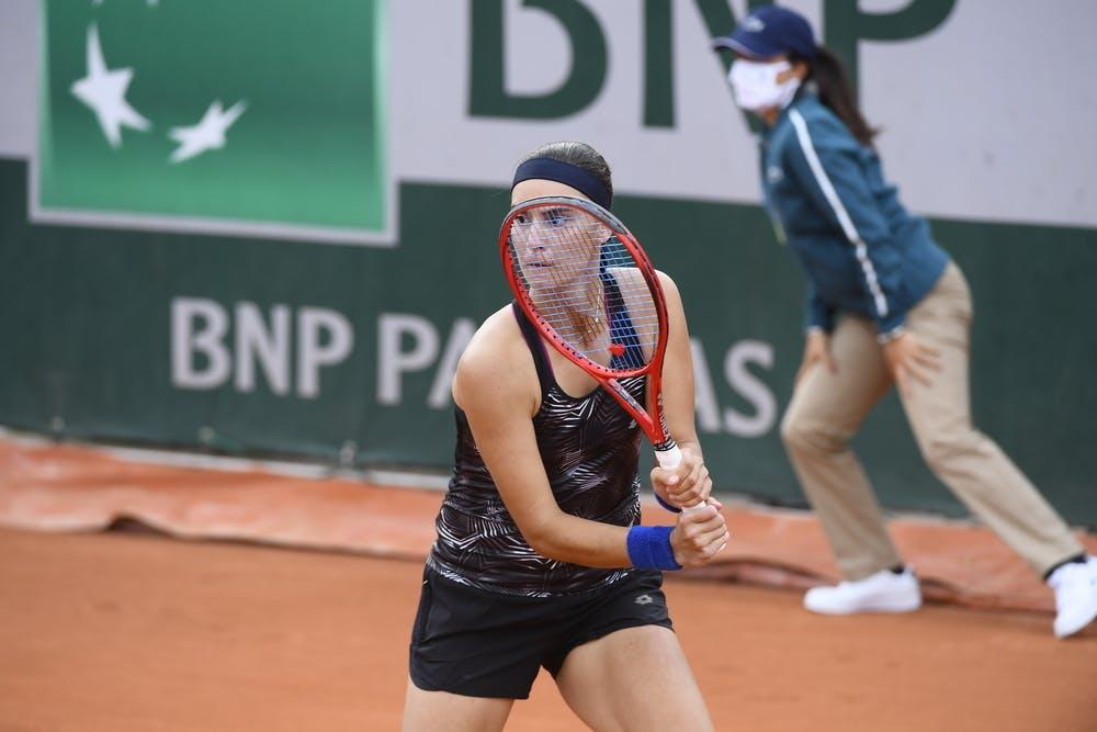Anhelina Kalinina, Roland-Garros 2020, qualifying first round.
