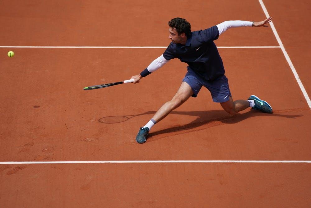 Quentin Halys, Roland-Garros 2021