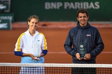 Stars Set et match sur le court Simonne-Mathieu / Roland-Garros 2020