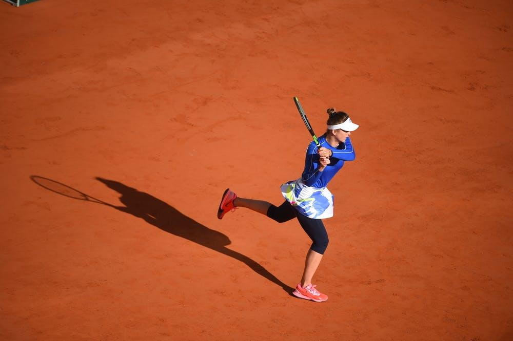 Elina Svitolina, Roland Garros 2020, fourth round