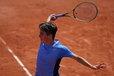 Charlelie Cosnet, Roland-Garros 2021, boys singles first round