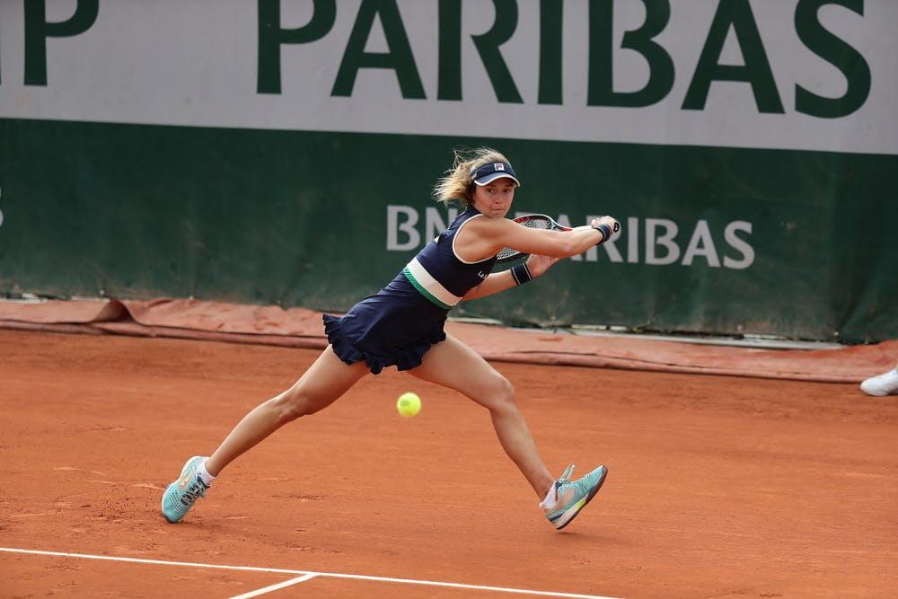 Nadia Podoroska, Roland Garros 2020, second round