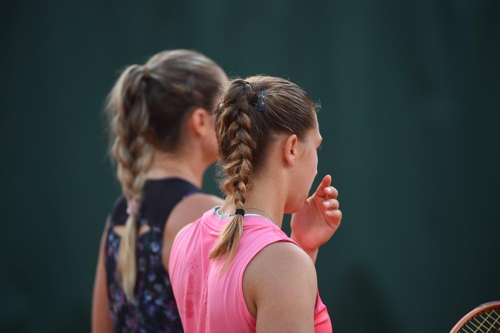 Margot Yerolymos, Diane Parry, Roland-Garros 2021 first round