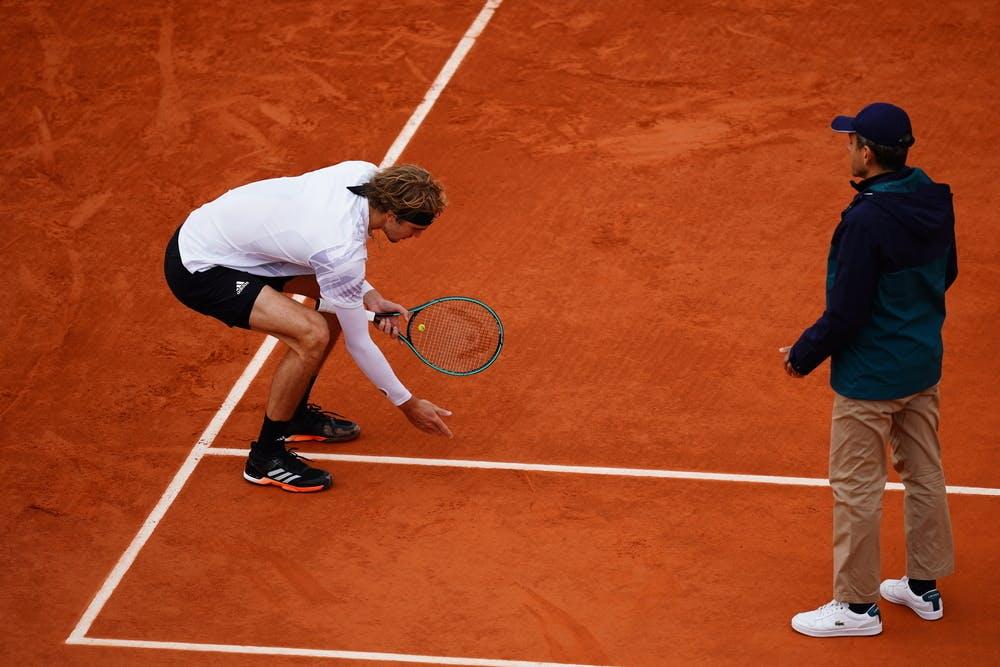 Alexander Zverev, Roland Garros 2020, fourth round