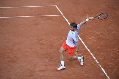 Stan Wawrinka Roland Garros third round.