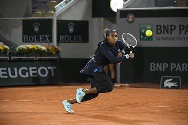 Coco Gauff, Roland Garros 2020 first round